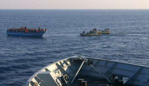 100 feared dead in Mediteranian after a migrant boat capsized