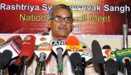 600 नए ब्यूरोक्रेट को संबोधित करेंगे आरएसएस नेता कृष्ण गोपाल