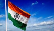 Indian mission in London lit up in energy efficient tricolour