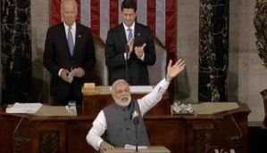 US Congress address: The eight times US lawmakers gave PM Modi a standing ovation