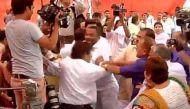 AAP councillor slapped at civic body meet, Kejriwal calls BJP a 'party of gundas'