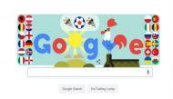 Google doodle marks the onset of UEFA Euro 2016