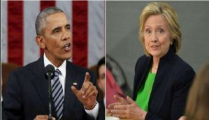US President Barack Obama officially declares support for Hillary Clinton