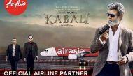 Kabali: Air Asia unveils new poster featuring a fierce Rajinikanth