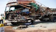 भारत में सड़क हादसों में हर घंटे 17 की मौत