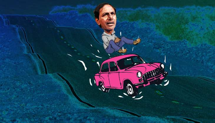 2 years down, KCR's honeymoon is over. Here are 5 challenges he faces