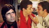 #CatchFlashBack: When Salman Khan & Sanjay Dutt tipped their hats to Amitabh Bachchan, Rishi Kapoor