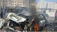 2 killed, several injured as twin blasts hit Damascus suburb
