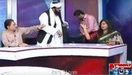 वीडियो: पाकिस्तान में लाइव टीवी कार्यक्रम में जमीयत नेता ने महिला से कहे अपशब्द
