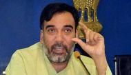 स्वास्थ्य वजहों से दिल्ली के परिवहन मंत्री गोपाल राय का इस्तीफा
