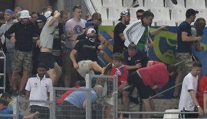यूरो कप 2016 में हुई हिंसा के लिए रूस पर लगा मोटा जुर्माना, बाहर होने के कगार पर
