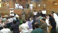 जम्मू में हिंसक प्रदर्शन पर विधानसभा में हंगामा
