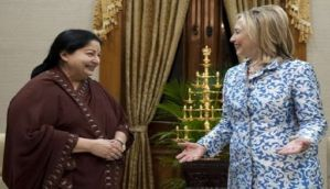 Jayalalithaa writes to Hillary Clinton, calls her a 'role model for women across the world'