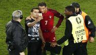 UEFA Euro 2016: Frustrated Cristiano Ronaldo's 'selfie' moment