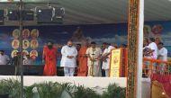 अंतरराष्ट्रीय योग दिवस पर बाबा रामदेव ने बनवाया वर्ल्ड रिकॉर्ड