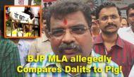 महाराष्ट्र के बीजेपी विधायक का दलितों पर आपत्तिजनक बयान