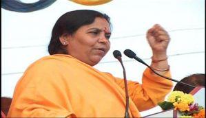 Union minister Uma Bharti admitted to Delhi's AIIMS hospital
