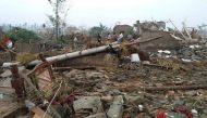 चीन में तूफान से तबाही, 98 लोगों की मौत