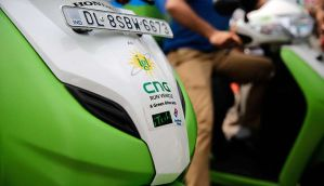 In pictures: CNG-powered two wheelers the new anti-pollution machines