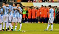 So near yet so far: Tracing Lionel Messi 's jinx at major international tournament finals