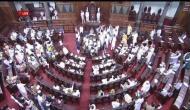 TDP, AIDMK का संसद में हंगामा, 'आंध्र प्रदेश बचाओ' के लगाए नारे