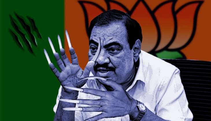 Eknath Khadse breaks his silence, vows to finish all his opponents