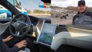टेस्ला की सेल्फ ड्राइविंग कार सेफ नहीं, हाईवे पर ड्राइवर की मौत