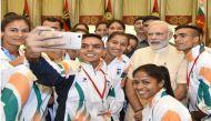 पीएम मोदी ने रियो ओलंपिक में जाने वाले खिलाड़ियों से मुलाकात की