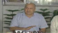 Arresting CM's Principal Secretary is an attempt to undermine Delhi govt: Manish Sisodia