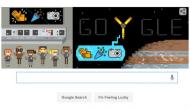 Google doodle celebrates entry of NASA Juno into Jupiter's orbit