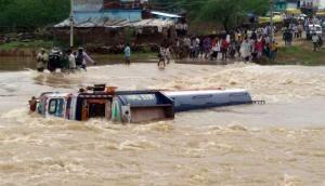 In photos: Heavy rains trigger flash floods in Madhya Pradesh; rescue operations underway