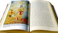 In Haryana, school children refer to the Gita & Vedas for moral education
