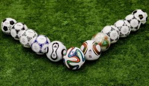 From pigs' bladders to vulcanised rubber; the evolution of the football