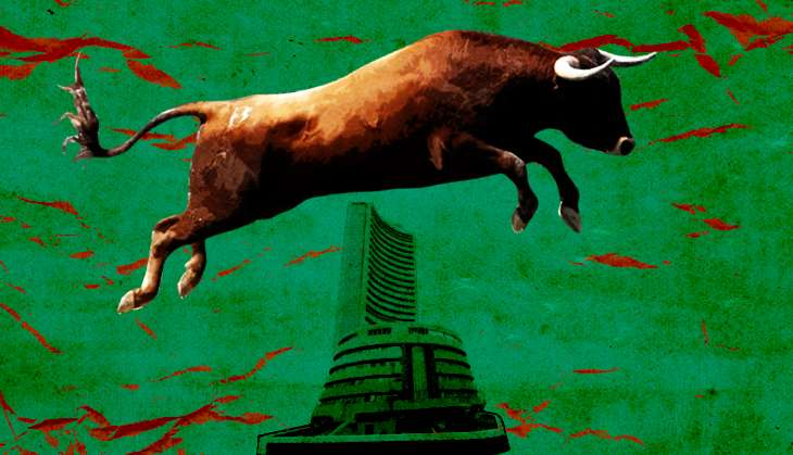 Sensex soars 500 points as US job market shows signs of recovery