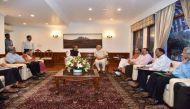 कश्मीर पर पीएम मोदी की उच्च स्तरीय बैठक, शांति बनाए रखने की अपील