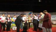 NEDA conclave: Amit Shah attends BJP-led North East Democratic Alliance meet in Guwahati
