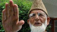 कश्मीर में अलगाववादी नेता अली शाह गिलानी और उमर फारूक गिरफ्तार