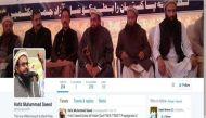 ट्विटर ने बंद किया आतंकी हाफिज सईद का अकाउंट