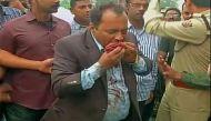 पश्चिम बंगाल: राष्ट्रपति के काफिले की कार खाई में गिरी, छह घायल