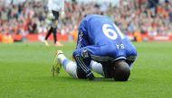 Video: Demba Ba suffers horrific broken leg during Shanghai derby