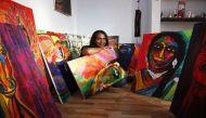वीडियो: भारत के पहले ट्रांसजेंडर आर्ट एक्सपो में कल्कि का कमाल