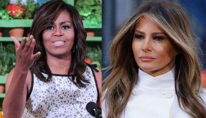 America, welcome Michelle Obama... er Michelle Trump... er Melania Trump