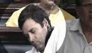 लोकसभा में झपकी लेते दिखे राहुल गांधी, बचाव में उतरी कांग्रेस