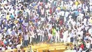 Lucknow: BSP workers stage protest against Dayashankar Singh, demand his arrest