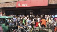 South China sea dispute: Chinese nationalists smash iPhones, call to boycott KFC in protest