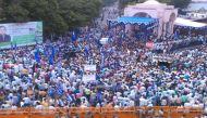 तस्वीरें: मायावती के अपमान पर घमासान, लखनऊ में बसपा का बड़ा प्रदर्शन