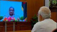 भारत-बांग्लादेश ने संयुक्त रूप से वीडियो कॉन्फ्रेंस के जरिए चेक पोस्ट का उद्घाटन किया
