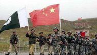 बारामूला में आतंकियों के ठिकानों से चीनी झंडे बरामद, 44 गिरफ्तार