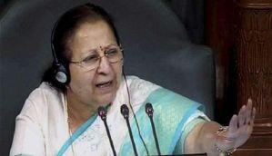 Lok Sabha: House adjourned over AAP MP video row, Sumitra Mahajan promises investigation