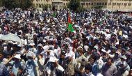 काबुल में प्रदर्शन के दौरान सीरियल ब्लास्ट, 80 लोगों की मौत